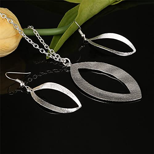 Hollow Rose Pendant Jewelry Set For Bridal New Ranking TOP17 mail order Wedding Ch Sets Women