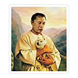 (3 Pcs/Pack) Dogecoin to The Moon with Elon Musk 3x4 Inch Vinyl Stickers Decals for Wall Laptop Bike Car Bumper Helmet Water Bottle