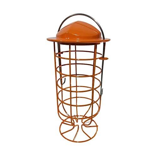 UNU_YAN Alimentador de pájaros al Aire Libre Hummingbird Feeder, Vino de Vidrio con Forma Alimentador de pájaros, Alimentador Colgante del pájaro de Metal, Ave Triturador de jardín al Aire Libre