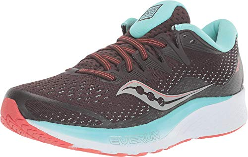 Saucony Ride ISO 2, Zapatillas de Atletismo para Mujer, Brown Coral, 38 EU