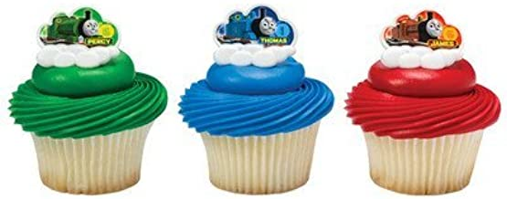 Thomas & Friends Steam Team Cupcake Rings - 24 ct
