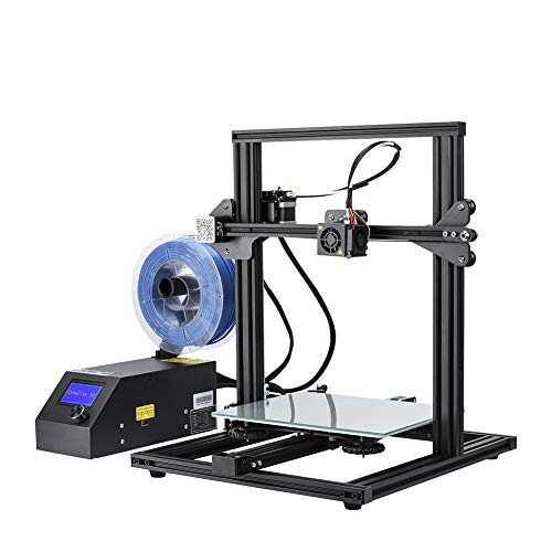 "Creality 3D Printer CR-10 Mini 3D Aluminum DIY Printer with Resume Print Massive Print Size 11.8"" x 11.8"" x 8.7"""