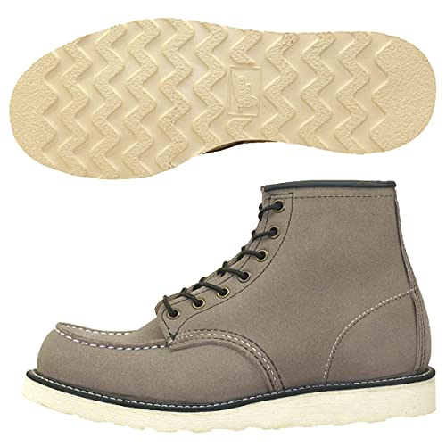 """Red Wing Classic Moc Men's 6"""" Boot Muleskinner leather, Slate, 11"""