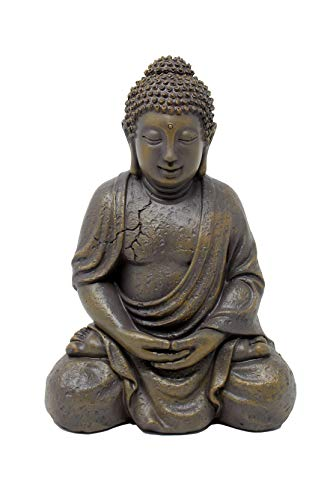 Nature's Mark 8' H Resin Table Top Buddha Statue Figurine Home Decorative Accent Decor