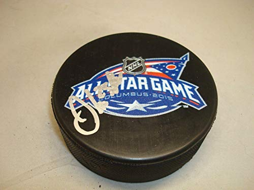 Oliver Ekman-Larsson Signed 2105 All Star Game Hockey Puck Autographed 1D - Autographed NHL Pucks