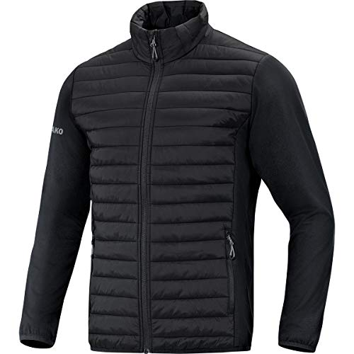JAKO Herren Hybridjacke Premium Sonstige Jacke, schwarz, XXL
