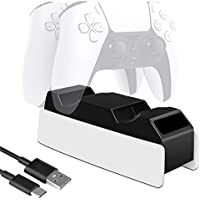 Samyoung Dual USB Charging Station Compatible for Playstation 5