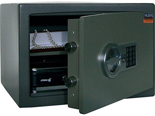 Valberg Safe Deposit box Security – resistente alla forza apertura laterale –nascosto cerniere di bloccaggio – anti-picking – casa e ufficio contanti, gioielli, pistola, denaro – parete nera nascosta
