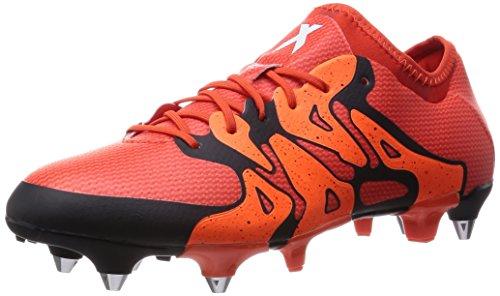 adidas Performance X15.1 SG Herren Fußballschuhe, Rot (Bold Orange/Ftwr White/Solar Orange), 39 1/3
