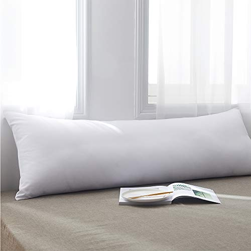 Cosybay Ultra Soft Large Body Pillow Insert – Long Sleeping Breathable Bed Pillow – Memory Fiber Full Pillow Insert -20×54 Inch