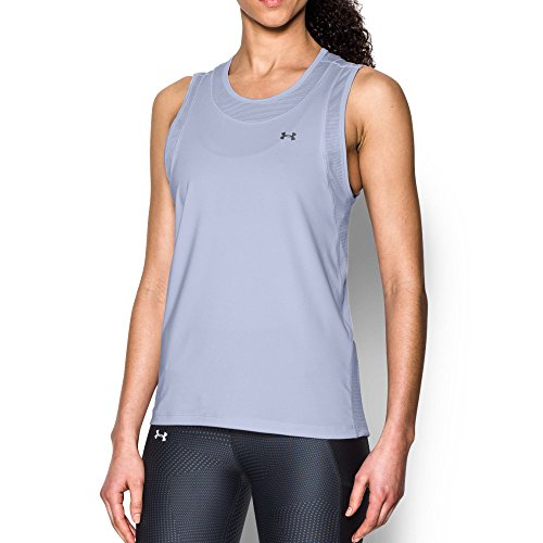Under Armour Women's Got Game Muscle Tank, Lavender Ice (500)/Graphite, X-Small