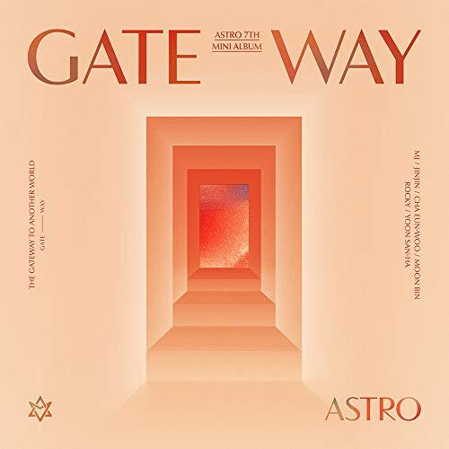 Fantagio Astro - Gateway [TIME Traveler ver.] (7th Mini Album) Album+Folded Poster+Extra Photocards Set