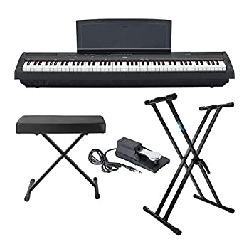 Yamaha P125 88-Key Weighted Action Digital Piano With Power Supply And Sustain Pedal, Black review