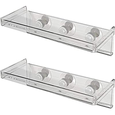 Large Window Sill Suction Cup Shelf for Plants and Window Gardens