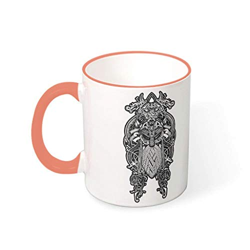 Taza de cerámica de alta calidad Personalize taza Persimmon 330 ml