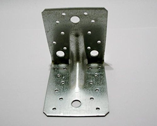 Schwerlast-Winkelverbinder 90° Winkel mit Sicke 105 x 105 x 90 mm im Mengenpack 50 Stück