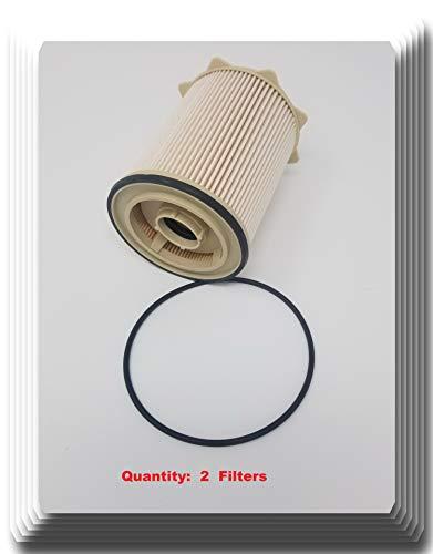 68065608AAv [ 2 Filters ] V-Pro H.D Fuel Filter replaces: PF9870 68061634AA 68065608AA 4947561 68065608AA FF818DL FS43255 CS11037 19305685 FF1199 L6806F MO-608 DF6806 56083 33255 (2)
