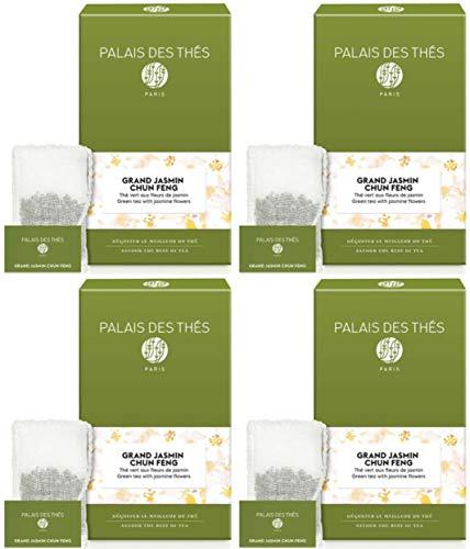 Palais des Thés Grand Jasmine Chung Feng Green Tea - 80 Teabags