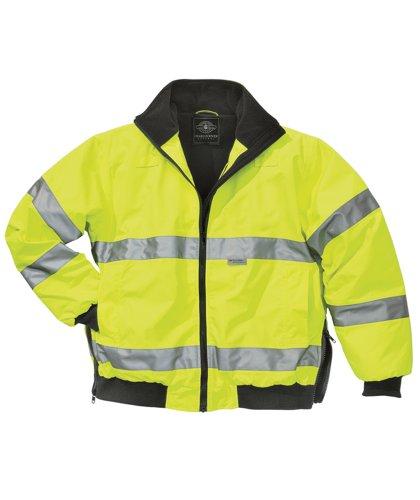 Charles River Apparel Men's Signal Hi-vis Waterproof Jacket (Regular & Big-Tall Sizes)