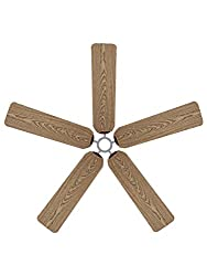 wood effect ceiling fan sock cover