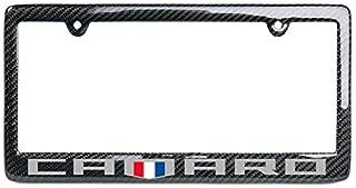 West Coast Camaro - Camaro 6th Generation Carbon Fiber License Plate Frame (Badge Logo)