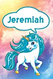 Jeremiah: Unicorn Blank Comic Book Notebook Journal book 120 pages 6'x9'