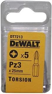 Dewalt DT7213-QZ Torsion Bit Pz3 25mm (5 Piece)