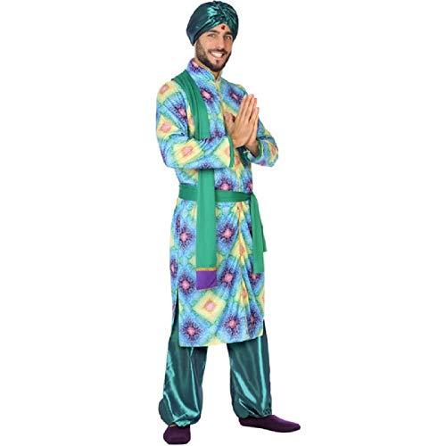 ATOSA disfraz hindu hombre adulto verde XL