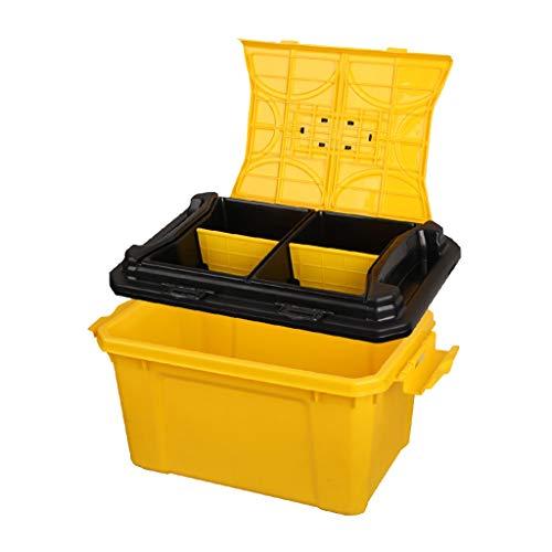 Coffre de Voiture Organisateur Boîte de Rangement pour Voiture (Color : Yellow, Size : 50 * 30 * 30cm)