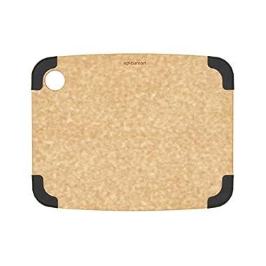 Epicurean 202-12090103 Non-Slip Series Cutting Board, 11.5-Inch by 9-Inch, Natural/Slate