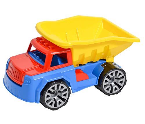 Alsino Kipplaster Kipper Sandkasten Garten Spielfahrzeug Muldenkipper Spielzeug - Großer Spielspaß für aktive Kids - Gartenspielzeug Outdoor Indoor Sand für Kinder