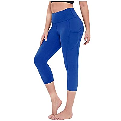 Amazon - Save 80%: PLENTOP Yoga Pants for Women with Pockets High Waisted Leggings with Po…