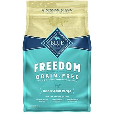 Blue Buffalo Freedom Grain Free Natural Indoor Adult Dry Cat Food, Fish 5-lb.