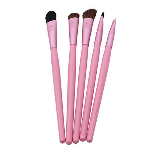 Sperrins Pink 5pcs / set Brosse De Maquillage Des Yeux Portable Set Pour Femmes