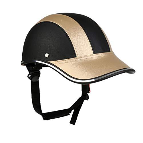 Bike Helmet YDHWWSH Adjustable Unisex Bike Cycling Helmet Baseball Cap Anti...