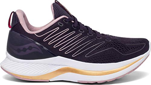 Saucony Women's S10577-20 Endorphin Shift Running Shoe, Dusk/Gold - 9 M US