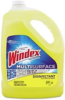 Windex Disinfectant Multisurface All-Purpose Cleaner Refill 1 Gallon- Citrus Scent
