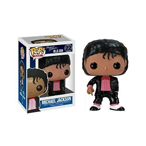 YYBB ¡Popular!Rock Star: Michael Jackson en Billie Jean MV Exclusivo Vinilo Figura Crafts Figuras Colección Figurines