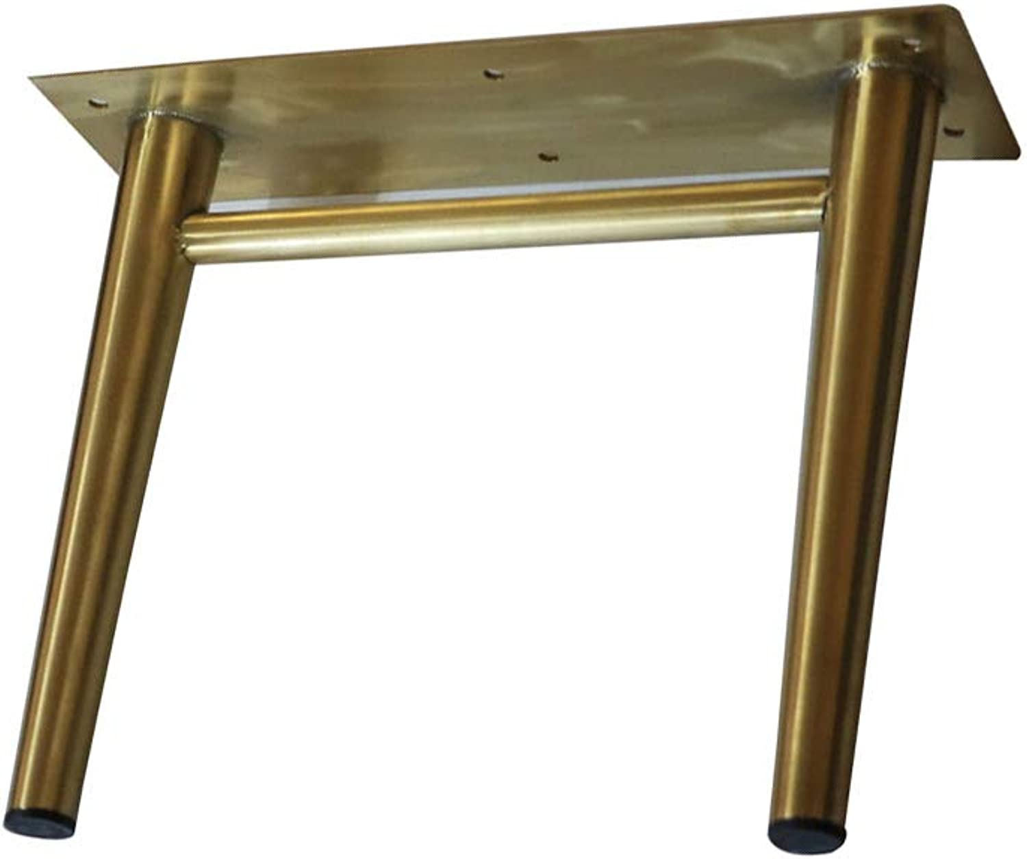 Metal Furniture feet, 2 Stainless Steel 20cm TV Cabinet feet, Brushed Titanium gold Connecting feet, Nordic Bathroom Cabinet Coffee Table Support Legs