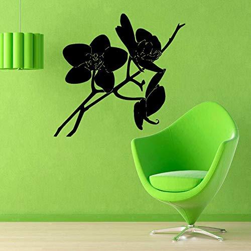 yaonuli Orchidee muursticker tak muurtattoos hoofddecoratie vinyl muurschildering woonkamer slaapkamer decoratie