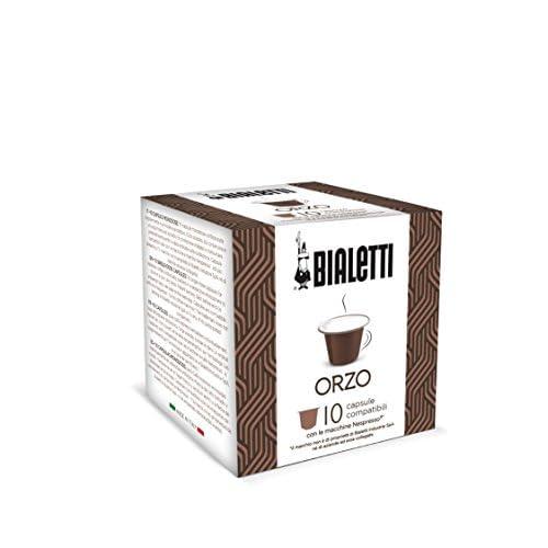Bialetti Compatibili Nespresso Orzo, 10 capsule