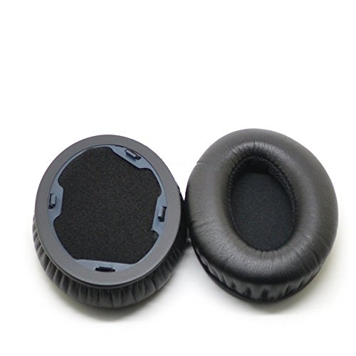 VEVER 1Pair Replacement Ear Pads Earpuds Ear Cushions Cover for Monster Beats by Dr. Dre Studio Headphones - Old Version (Not for Solo Headphones)