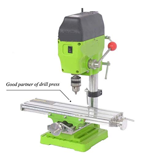 RJRK Compound Table Working Cross Slide Table,Worktable for Milling Drilling Bench Multifunction Adjustable X-Y Sturdy Durable