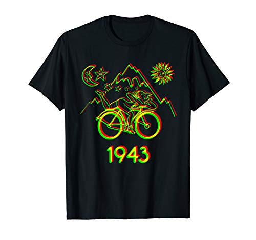 Bicycle Day 1943 LSD Acid Hofmann Trip t-shirt