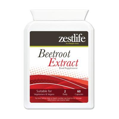 Zestlife Beetroot Extract Supplement 2125mg 2 x 60 Capsules