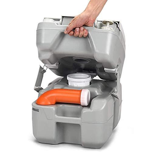 Safstar 5.3 Gallon Portable Toilet Splash-Free Dumping, Anti-Leak...