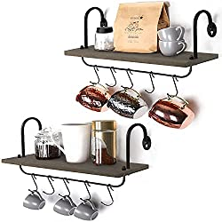 Coffee Station Shelves
