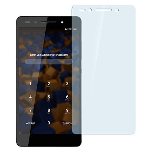 mumbi Hart Glas Folie kompatibel mit Huawei Honor 7/7 Premium Panzerfolie, Schutzfolie Schutzglas(1x)