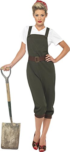 Smiffys WW2 Land Girl Costume