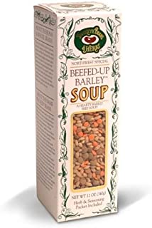 Beefed Up Barley Soup - Dry Soup Mix - Buckeye Beans 12oz (Pack of 6)